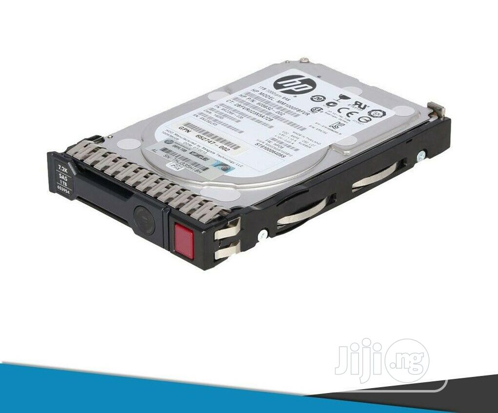 HP Hard Drive 1tb 7.2K Midline Sff Sas - 652749-B21