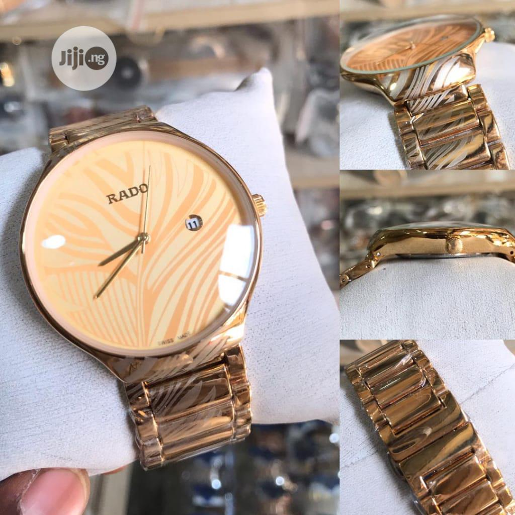 Archive: Rado Gold Wristwatch