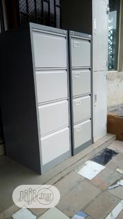 Brand New Imported 4drawers Metal Filing Cabinet With Key's. | Furniture for sale in Lagos State, Ikeja