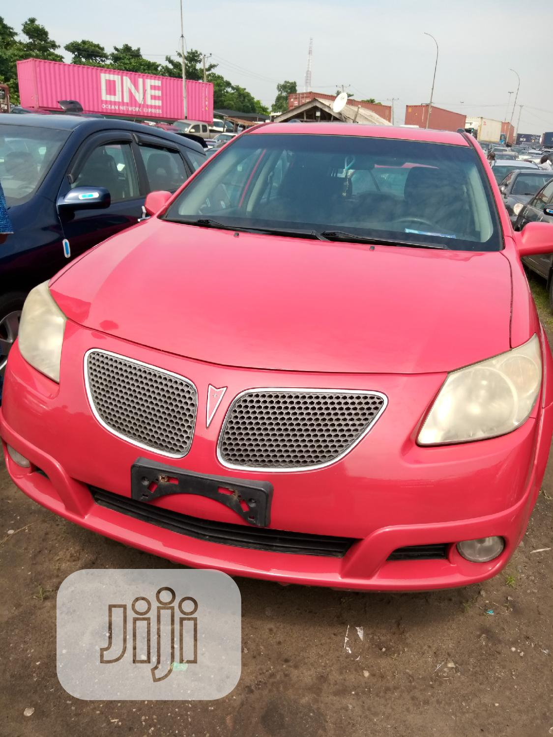 Pontiac Vibe 2006 Red | Cars for sale in Apapa, Lagos State, Nigeria