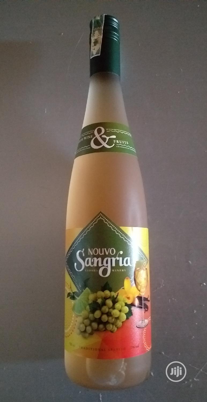 Sangria White Wine & Fruits, 7% Vol., 750ml X6 Bottles