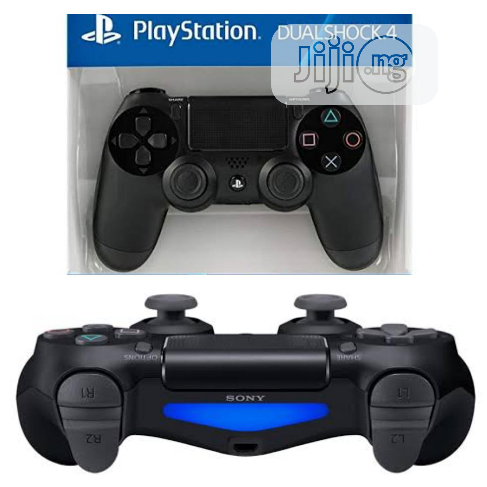 Sony PS4 Dual Shock Controller-game PAD | Accessories & Supplies for Electronics for sale in Ikeja, Lagos State, Nigeria