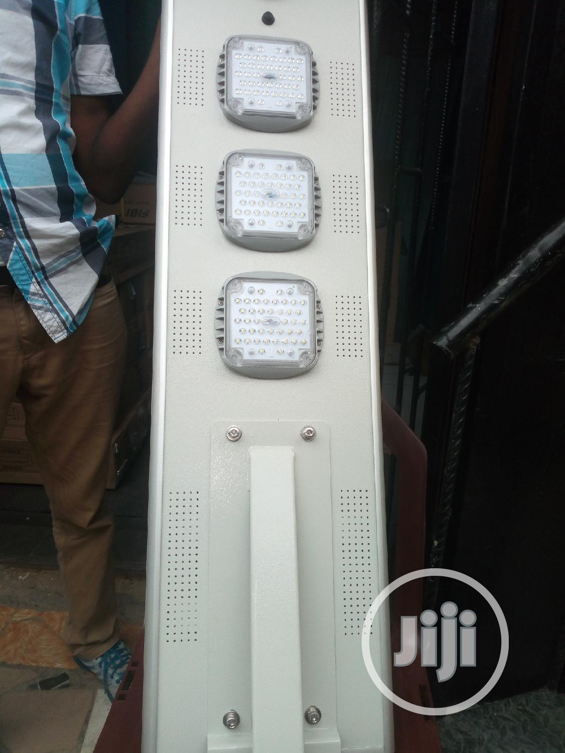 60w All in One Solar Street Light With 1 Yr Warranty | Solar Energy for sale in Ojo, Lagos State, Nigeria