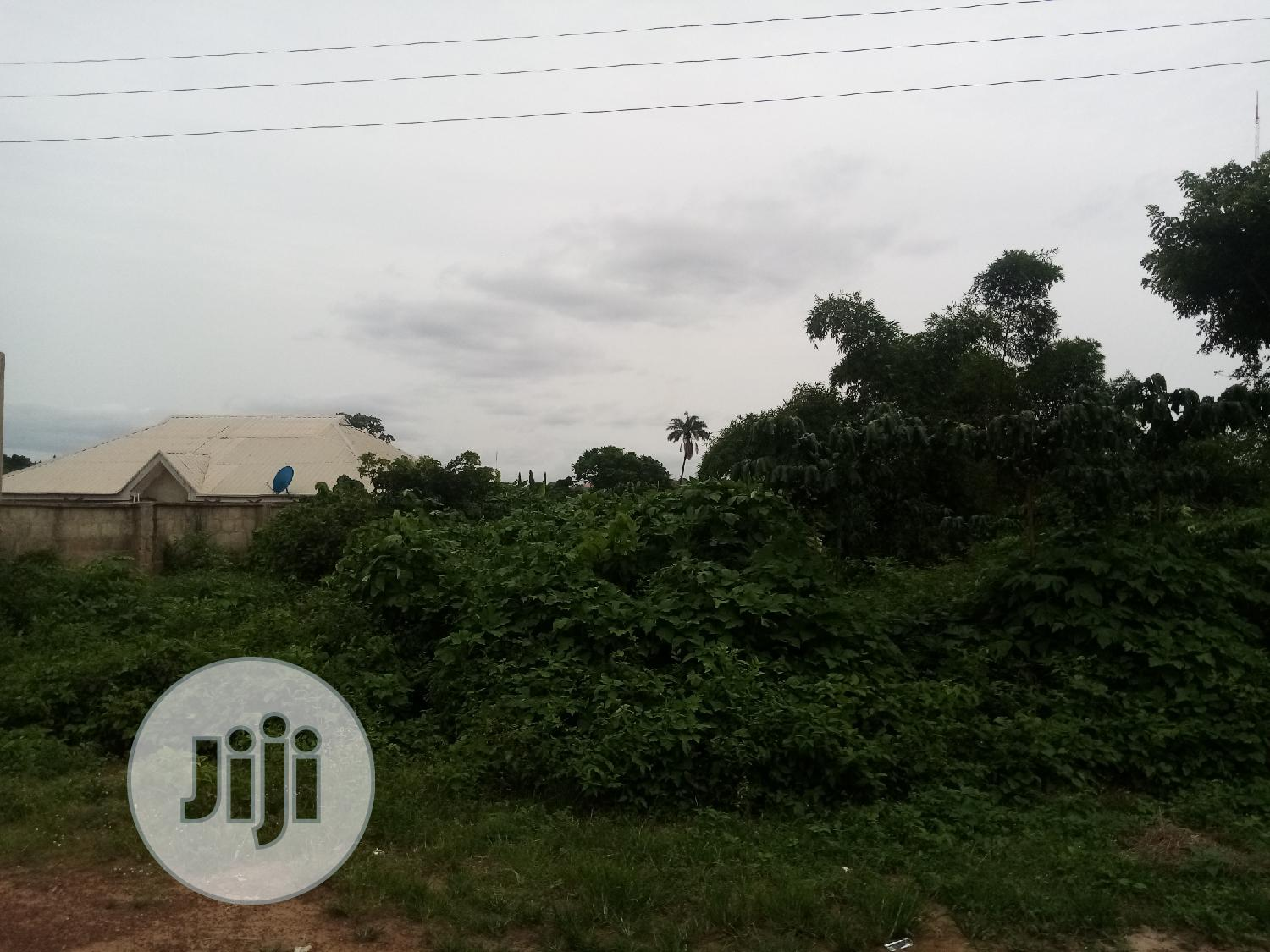 One Plot of Land for Sale Close to Oke-Odu Junction in Akure