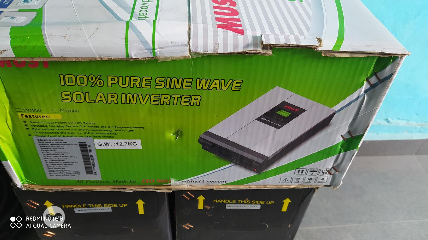 5kva MUST Hybrid Inverter Available With 1yr Warranty   Solar Energy for sale in Ojo, Lagos State, Nigeria