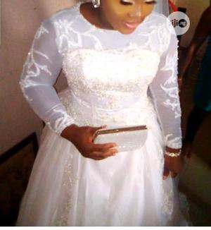 Sew Wedding Gown With Customised Colour Detail | Wedding Wear & Accessories for sale in Lagos State, Egbe Idimu