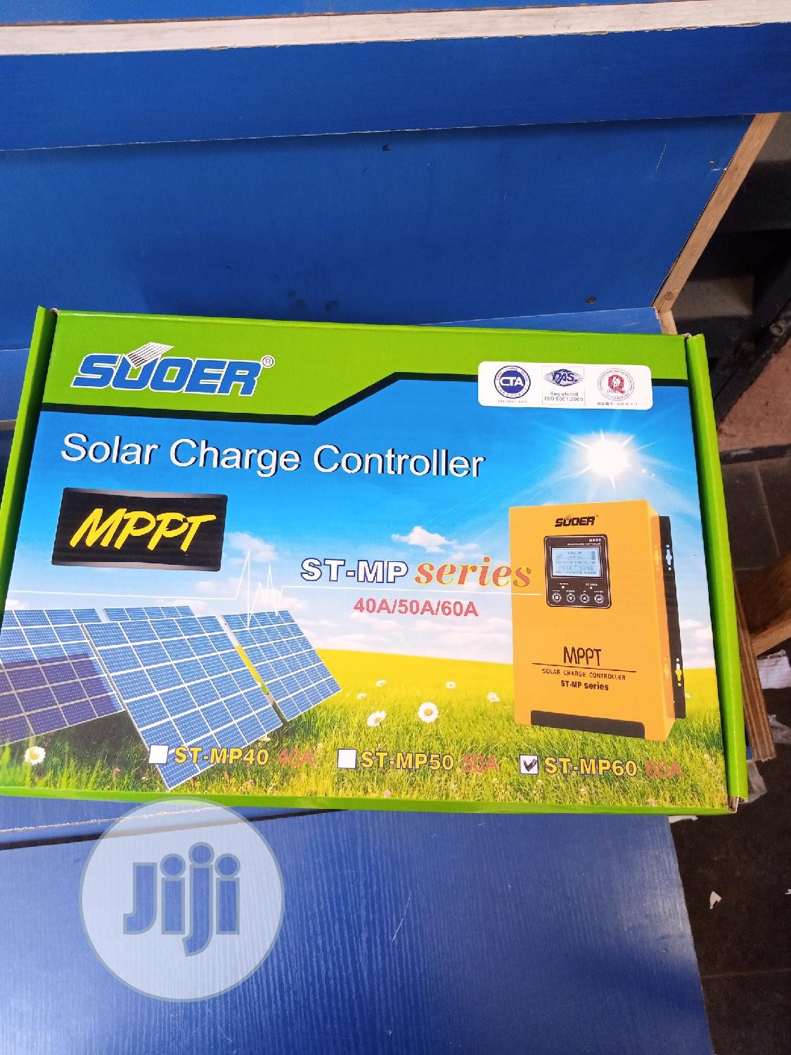 60amps Suoer Mppt Controller Available. | Solar Energy for sale in Ojo, Lagos State, Nigeria