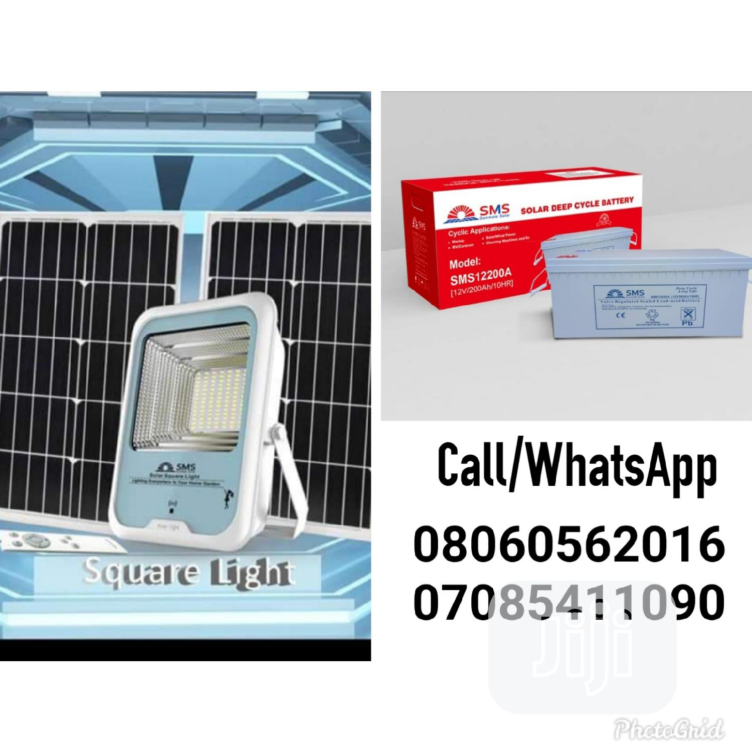 150watts Solar Flood Light Available With Warranty | Solar Energy for sale in Ojo, Lagos State, Nigeria