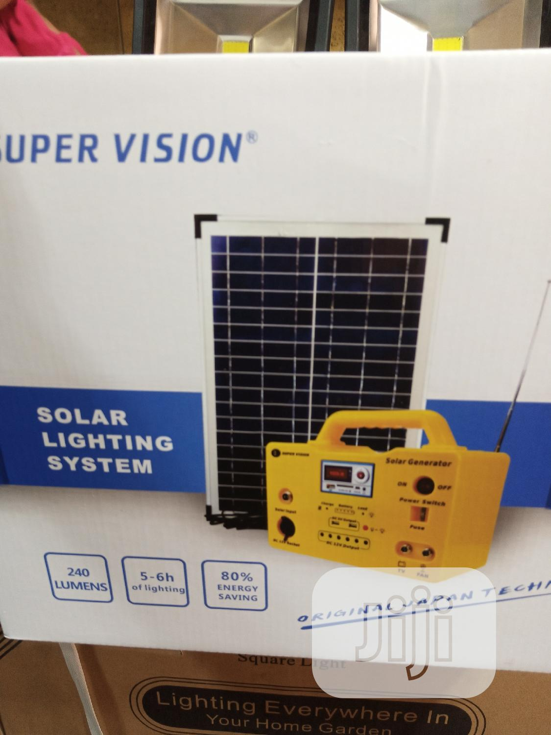 30watts Solar Generator Available for Sell.