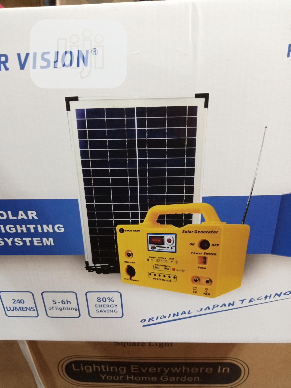 30watts Solar Generator Available for Sell. | Solar Energy for sale in Ojo, Lagos State, Nigeria