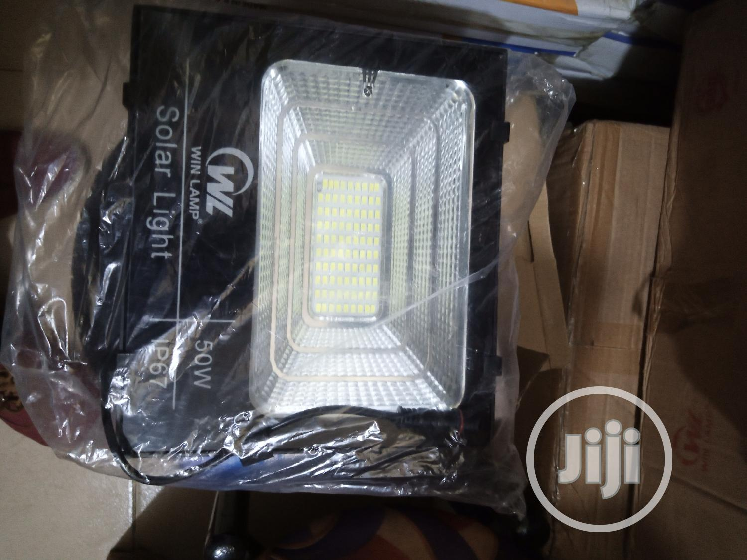50watts Solar Flood Light Available in Win Lamp. | Solar Energy for sale in Ojo, Lagos State, Nigeria