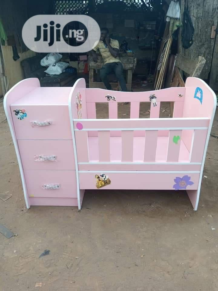 Baby Bed With Baby Wardrobe