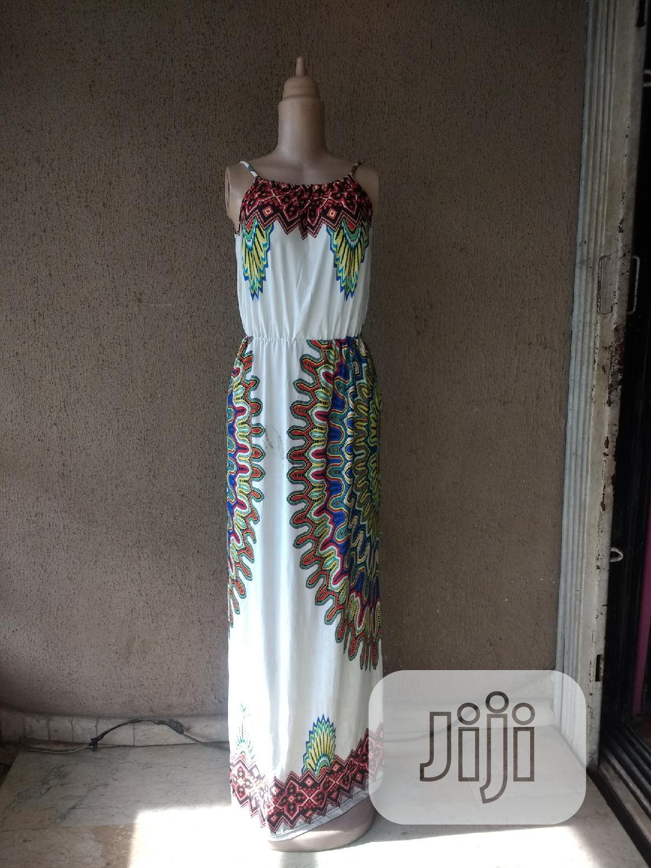 Archive: Lycra Maxi Dress