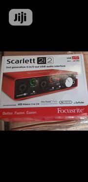 Focusrite Scarlett 2I2 | Audio & Music Equipment for sale in Lagos State, Ojo