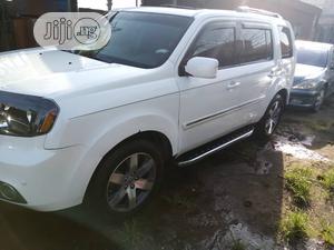 Honda Pilot 2014 White   Cars for sale in Lagos State, Amuwo-Odofin