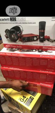 Focusrite Scarlett 2i2 Studio | Audio & Music Equipment for sale in Lagos State, Ojo