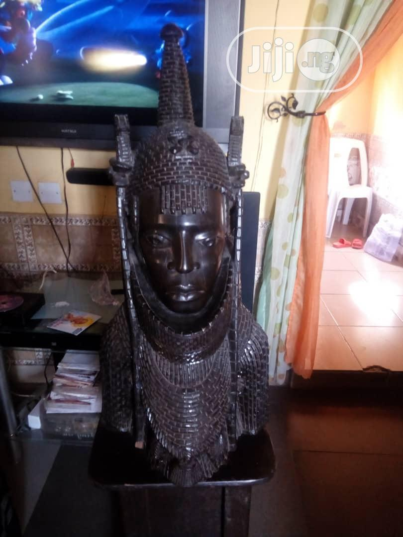 Modern Day Oba Of Benin Ivory Head. | Arts & Crafts for sale in Central Business Dis, Abuja (FCT) State, Nigeria