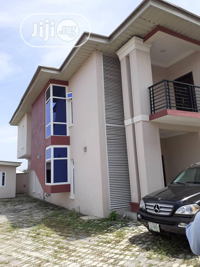 Newly Built 4bedroom Standard Terraced Duplex At Ebute Ikorodu