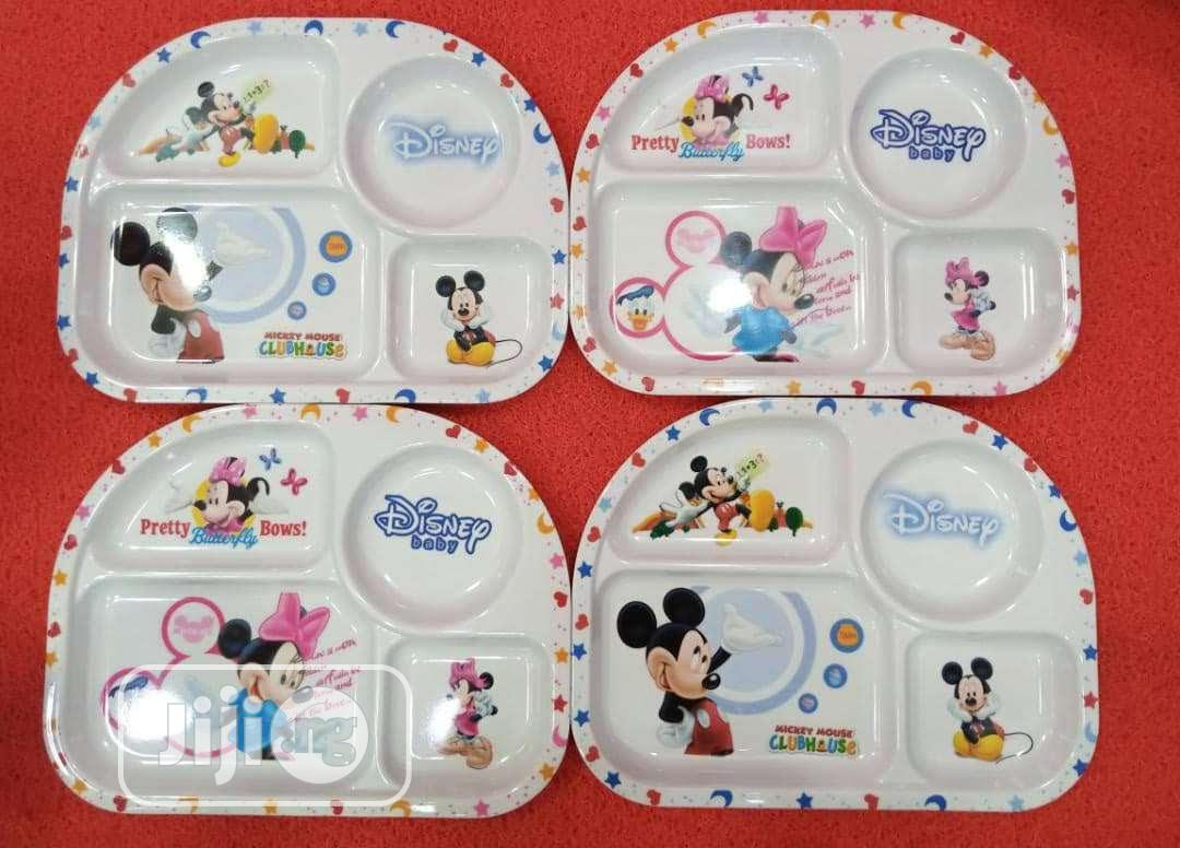 12pcs Children Passion Plate