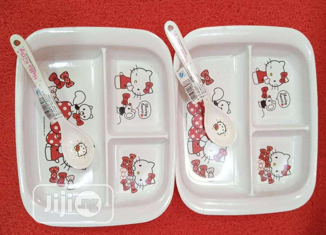 12pcs Children Passion Plate | Babies & Kids Accessories for sale in Lagos Island (Eko), Lagos State, Nigeria