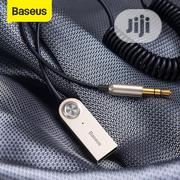 Baseus Bluetooth Transmitter Wireless Bluetooth Receiver 5.0 Car | Vehicle Parts & Accessories for sale in Lagos State, Ikeja