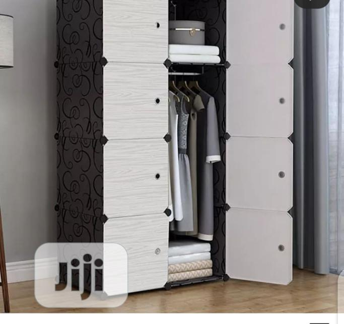 Plastic Storage Wardrobe