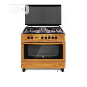MAXI Gas Cooker 60*90 (4 + 2 ) WOOD | Kitchen Appliances for sale in Lagos State, Ojo