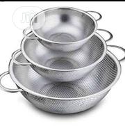 3 In 1 Steel Sieve Plate | Kitchen & Dining for sale in Lagos State, Agege