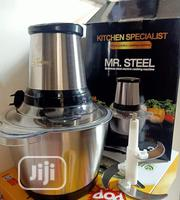Mr Steel Food Processor | Kitchen Appliances for sale in Lagos State, Ipaja