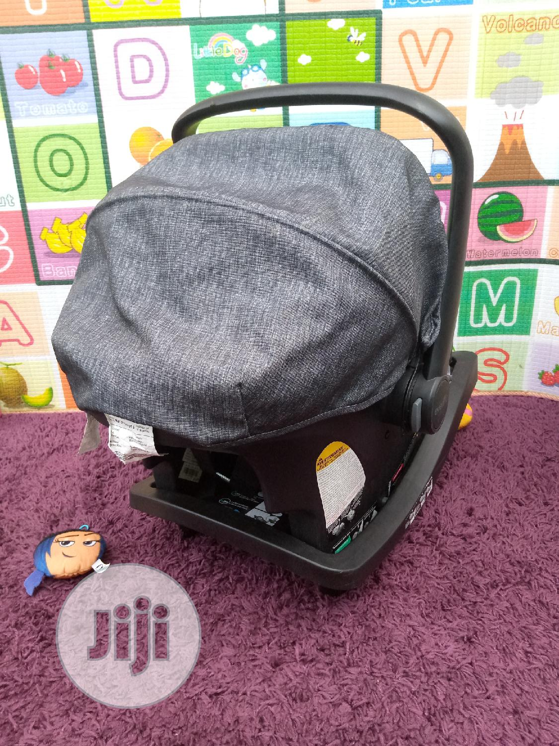 Neatly Used Uk Used Evenflo Infant Car Seat | Children's Gear & Safety for sale in Surulere, Lagos State, Nigeria