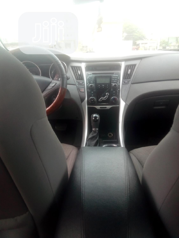 Hyundai Sonata 2011 Black   Cars for sale in Ajah, Lagos State, Nigeria