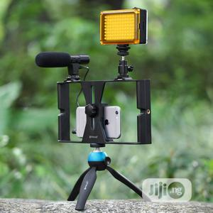 3in1 Phone Selfie Led Broadcast Tripod Stand | Accessories & Supplies for Electronics for sale in Lagos State, Ikeja
