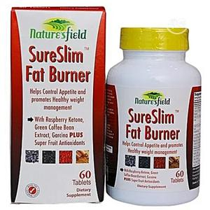 Nature's Field Sureslim Fat Burner-Promotes Healthy Weight Loss   Vitamins & Supplements for sale in Lagos State, Ojo
