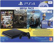 PS4 1TB Slim Console (Games Included : Grand Theft Auto v /Days Gone/ | Video Games for sale in Lagos State, Ikeja