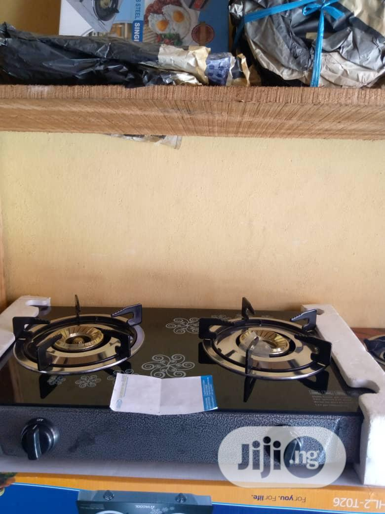Two Burner Table Gas Cooker