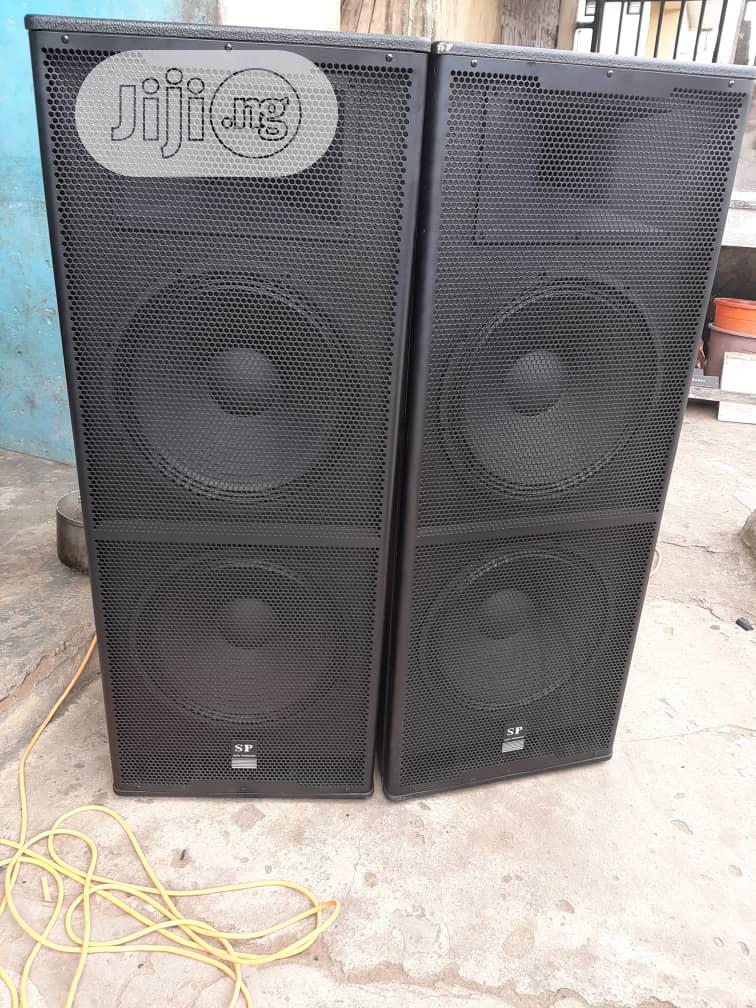 Sound Prince Double Speaker SP124 Pair