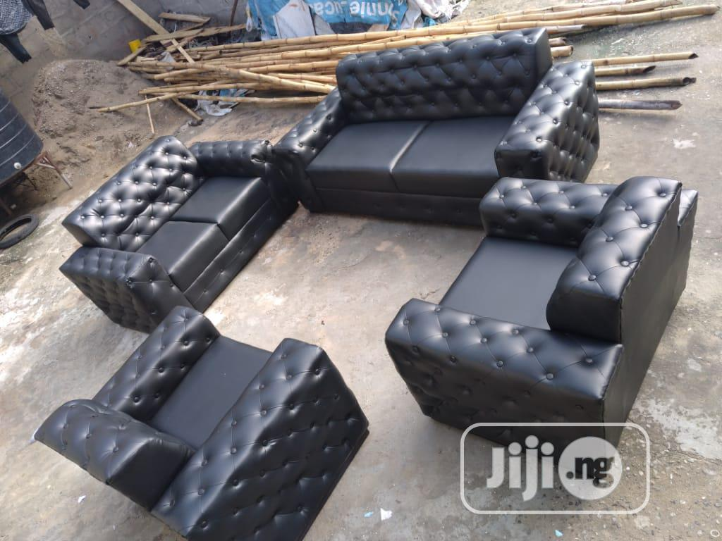 7 Seater Imported Leather Chair