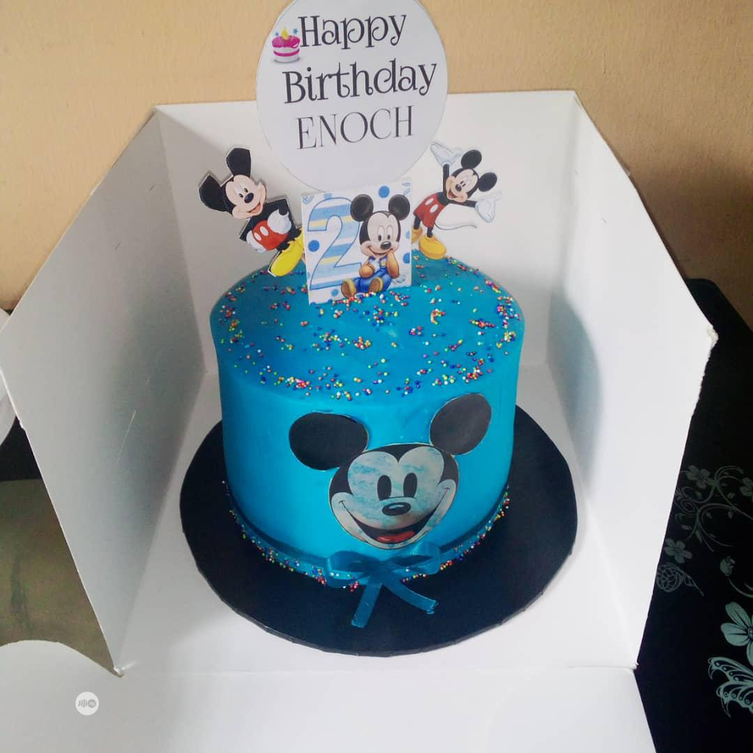 Mickey Mouse Buttercream Cake | Party, Catering & Event Services for sale in Ifako-Ijaiye, Lagos State, Nigeria