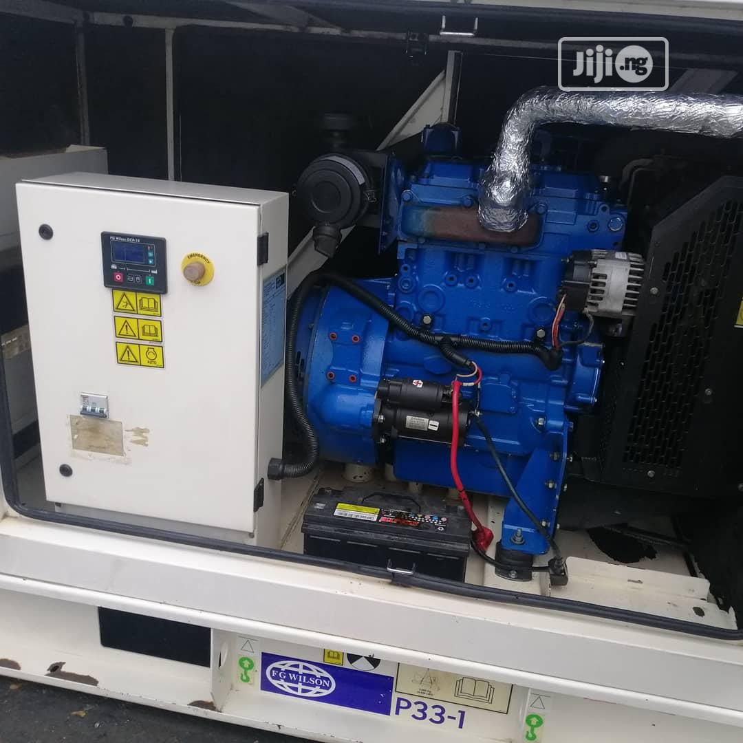 Archive: Few Weeks Old 33kva Fg Wilson