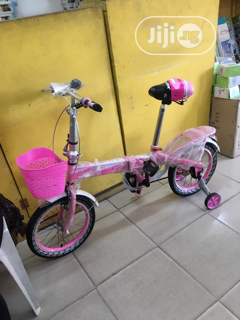 Foldable/Adjustable 16 Inches Bicycle (5-15years)