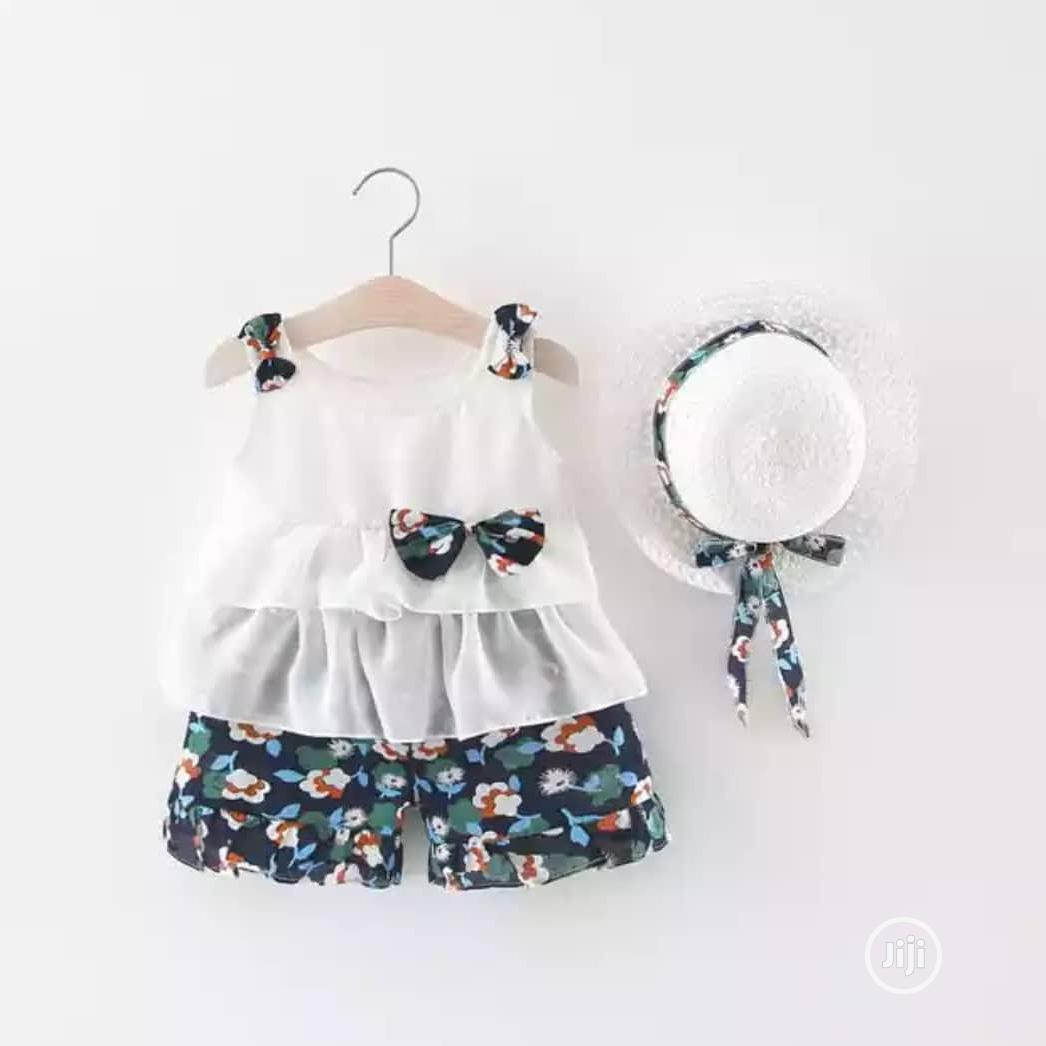 Beautiful Baby Girl 3pcs Set