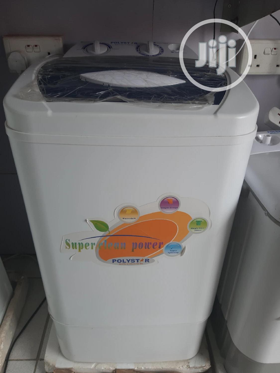 Polystar 6.5kg Top Load Semi Auto Washing Machine