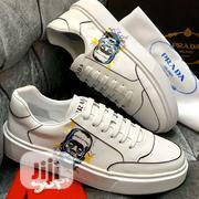 Prada White Sneaker for Men | Shoes for sale in Lagos State, Magodo