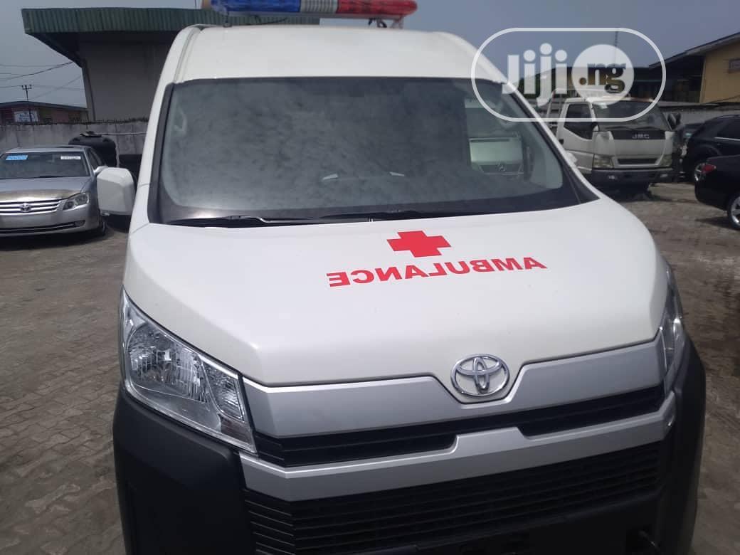 Ambulances.