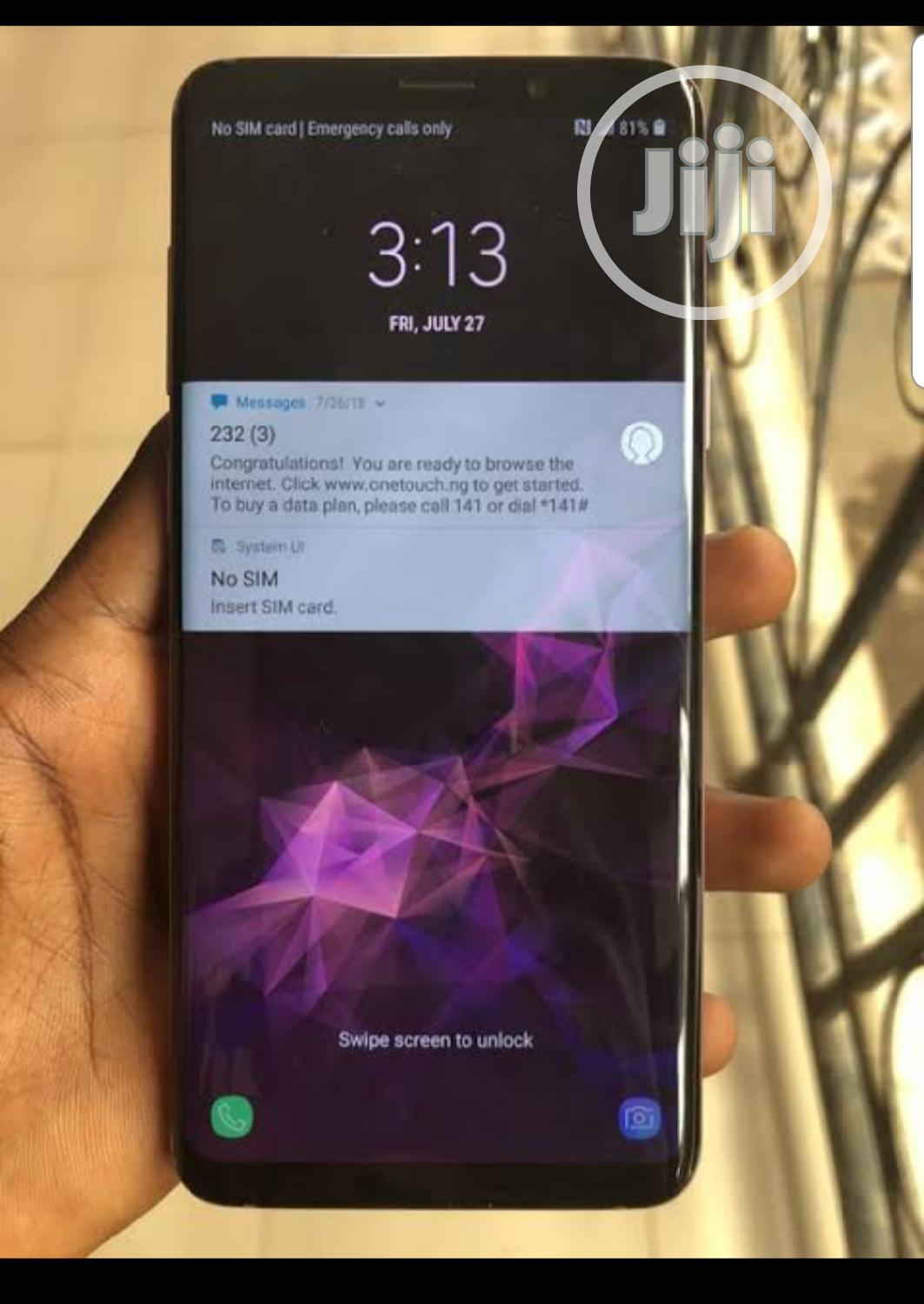 Archive: Samsung Galaxy S9 Plus 64 GB Blue