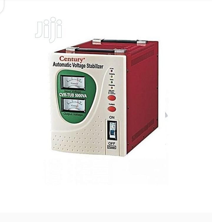 Century Automatic Voltage Stabilizer 5000va | Electrical Equipment for sale in Ojo, Lagos State, Nigeria