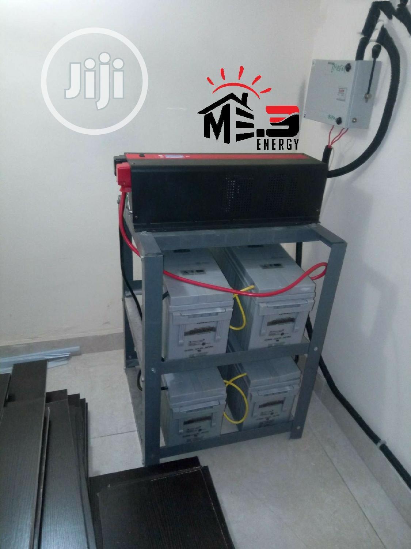 3.5kva Inverter With 4 Rugged Quanta 200ah Batteries