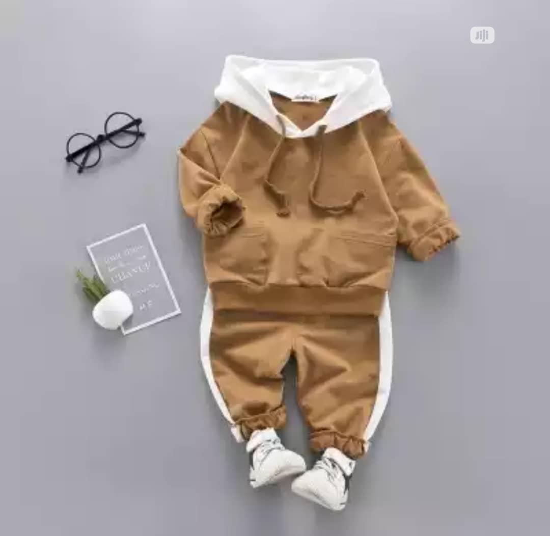 2020 Latest Children Hooded Set
