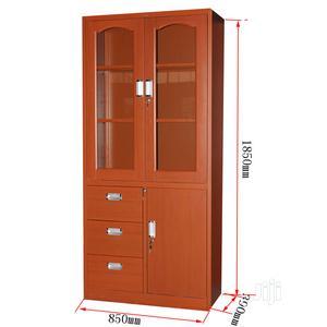 Office Cupboard Metal Wood Finishing | Furniture for sale in Lagos State, Yaba
