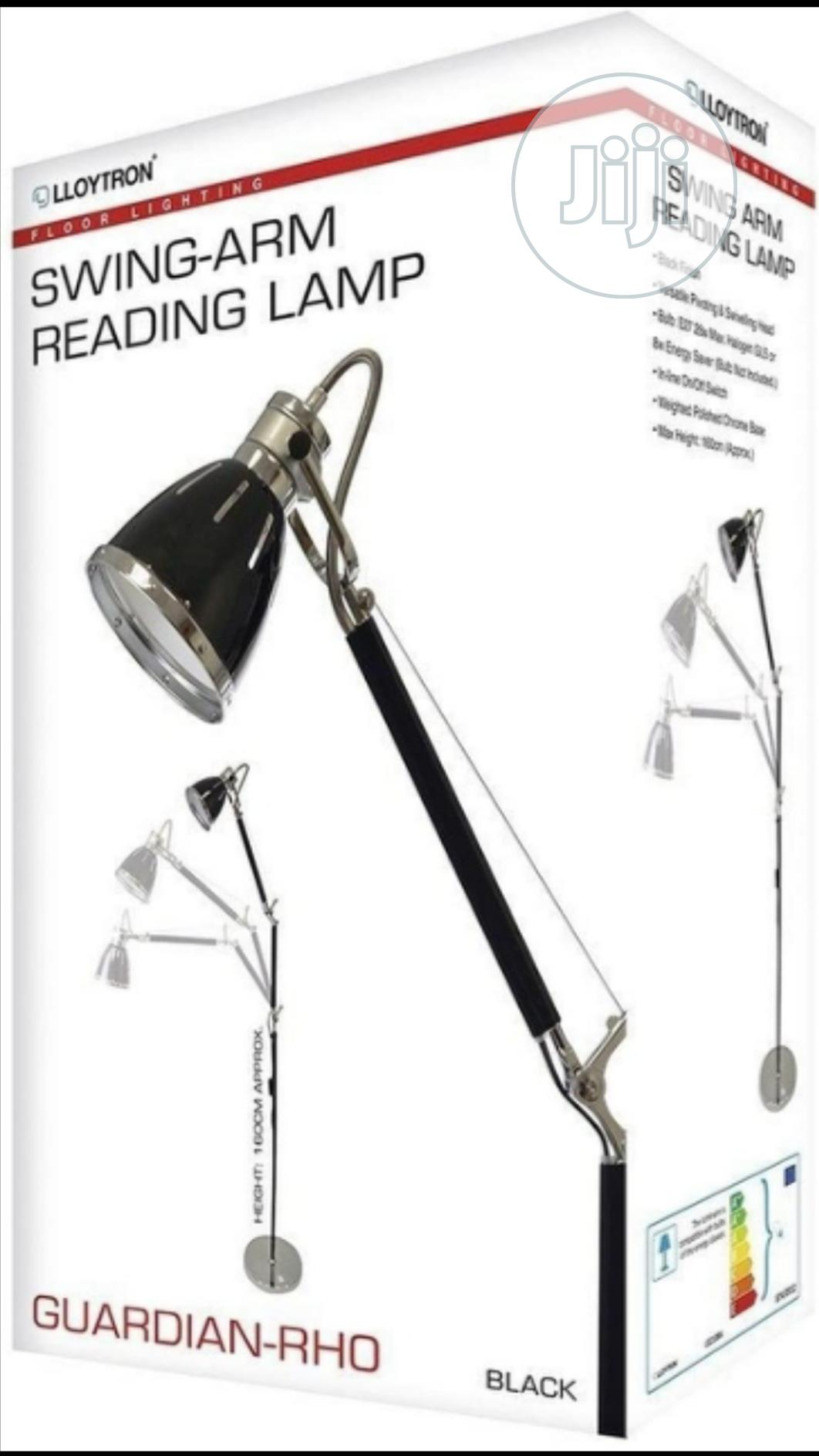 Lloytron Guardian-rho' Floor Reading Lamp Floor Standing160cm